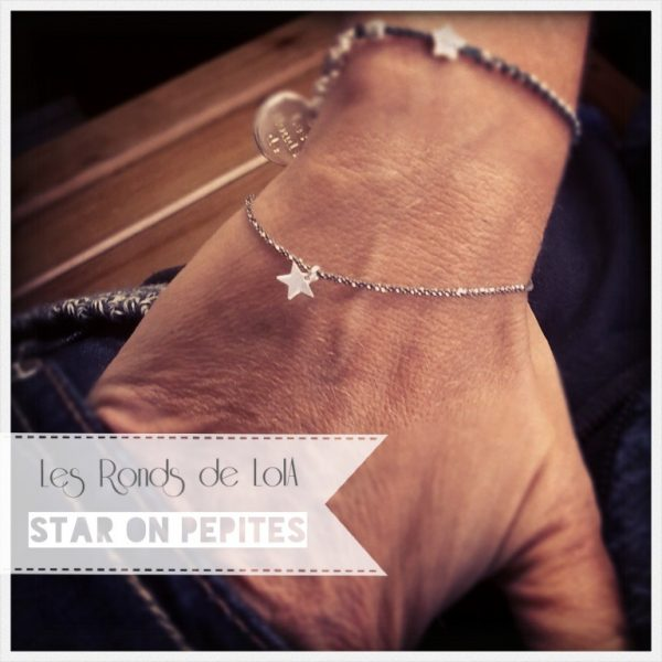 bracelet star on pépites