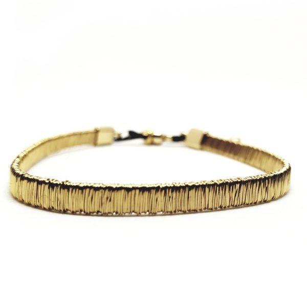 bracelet fil d'or