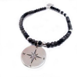 Bracelet Talisman Anthracite