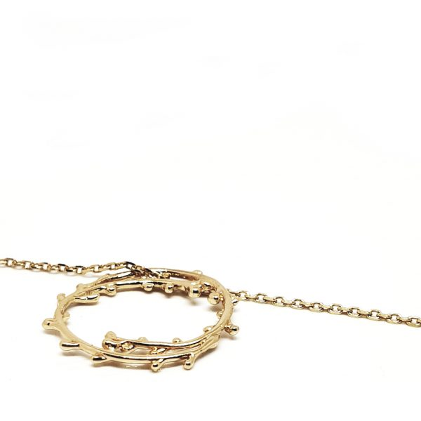 Twig d'Oli - collier fin - Branche d'olivier