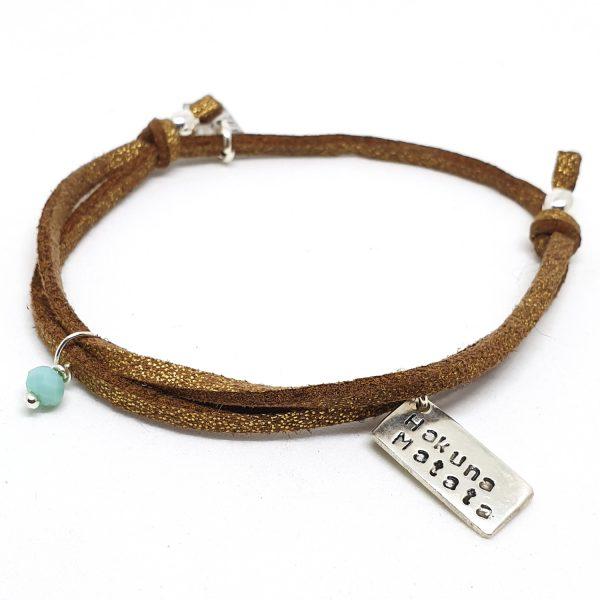 bracelet réglable Hakuna Matata