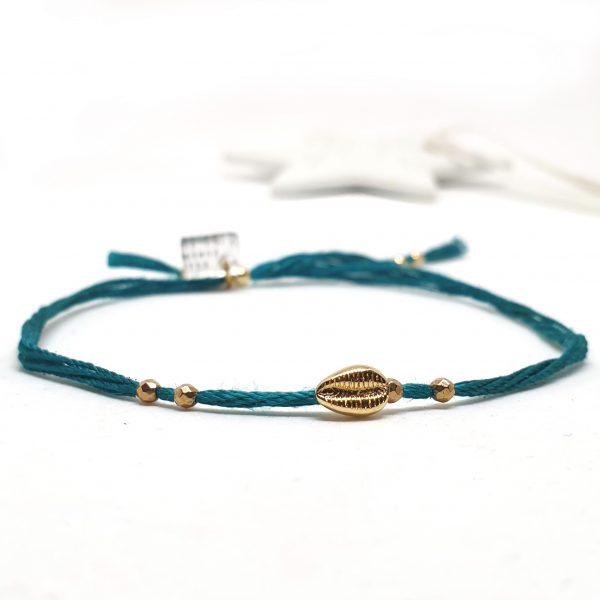 Bracelet Cauri réglable bijoux fins