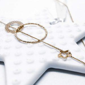 Brille bijou fin - collier Etoile